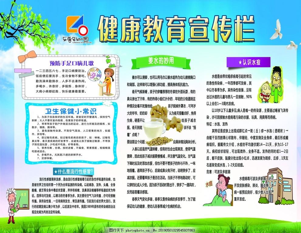 健康教育宣傳欄