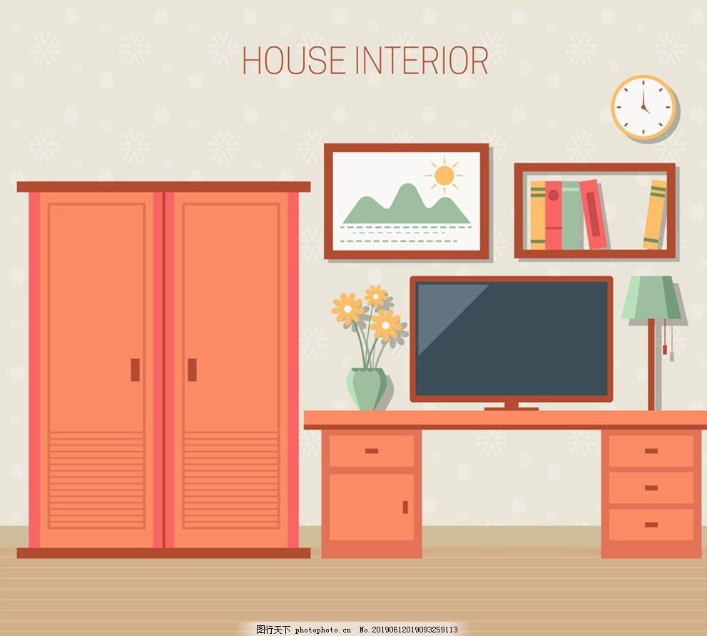 创意彩色卧室设计