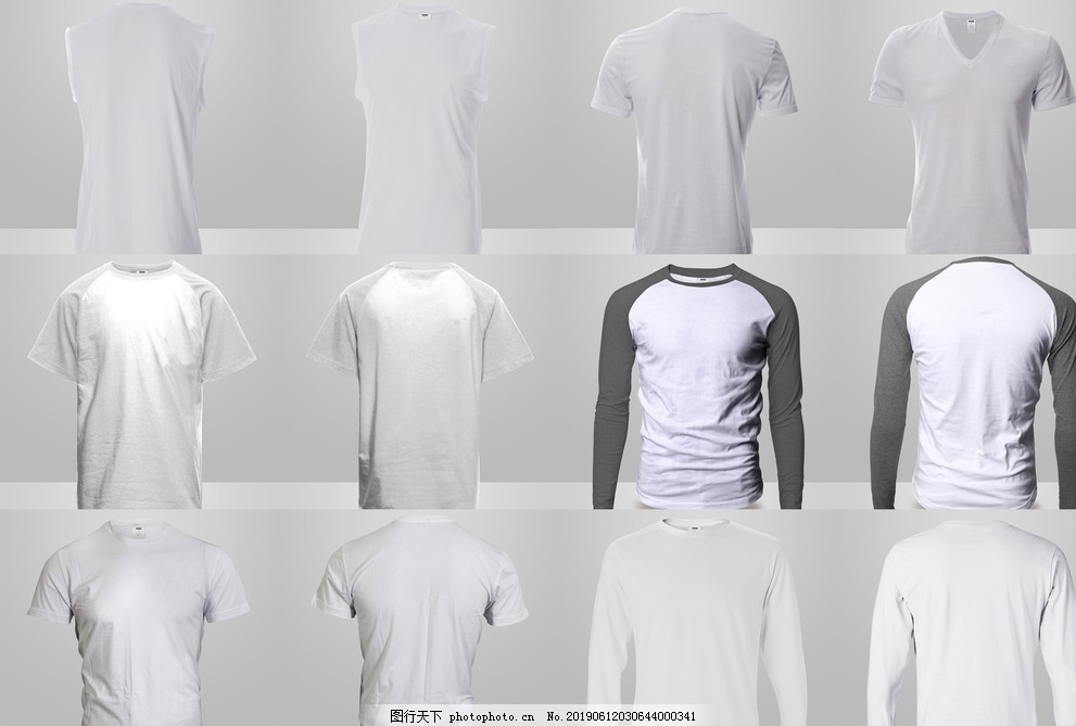 T恤衫效果图
