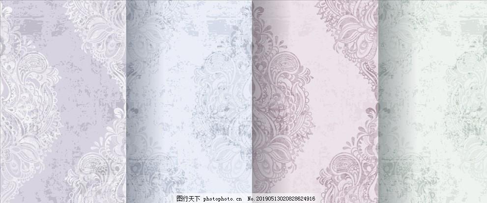 欧式花纹,背景,底纹,星星底纹,中式花纹,矢量花纹,图案