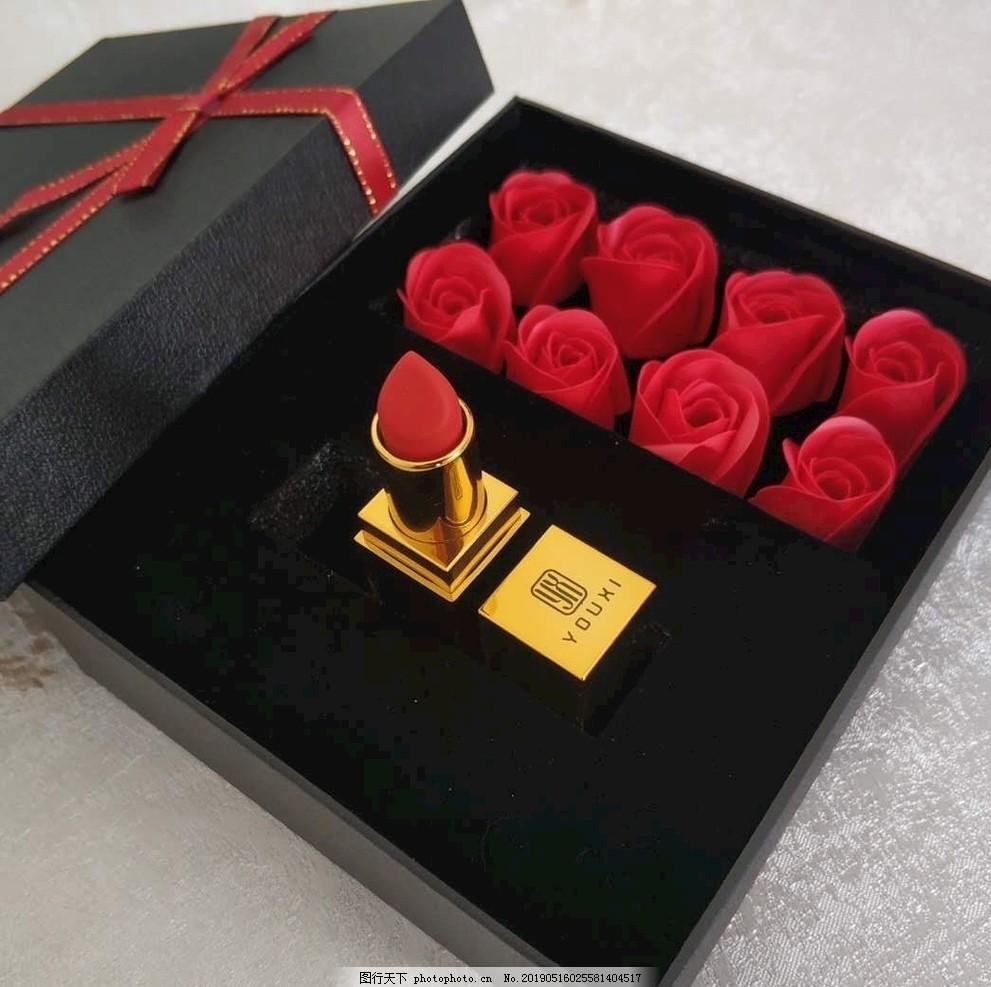 520专属礼物,口红套盒,礼盒,礼品,口红礼品,摄影,生活百科