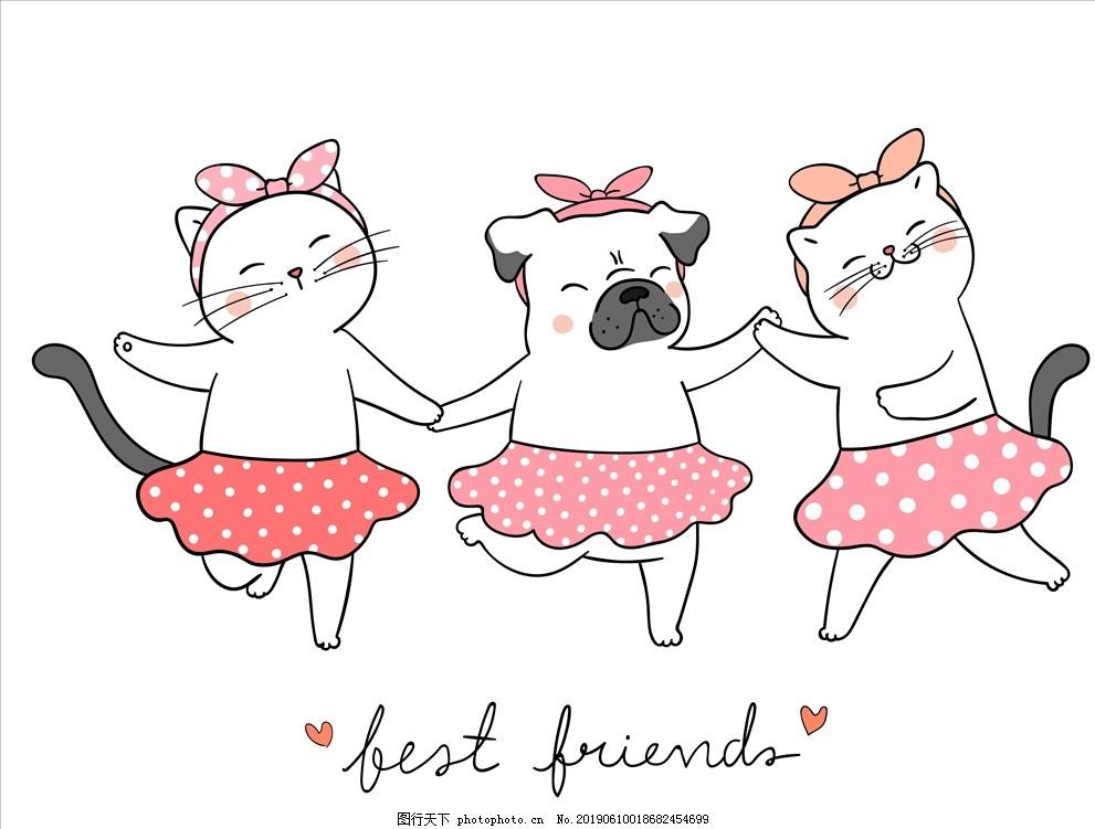 可爱兔子,卡通,猫咪,粉色,本本,本子,封面