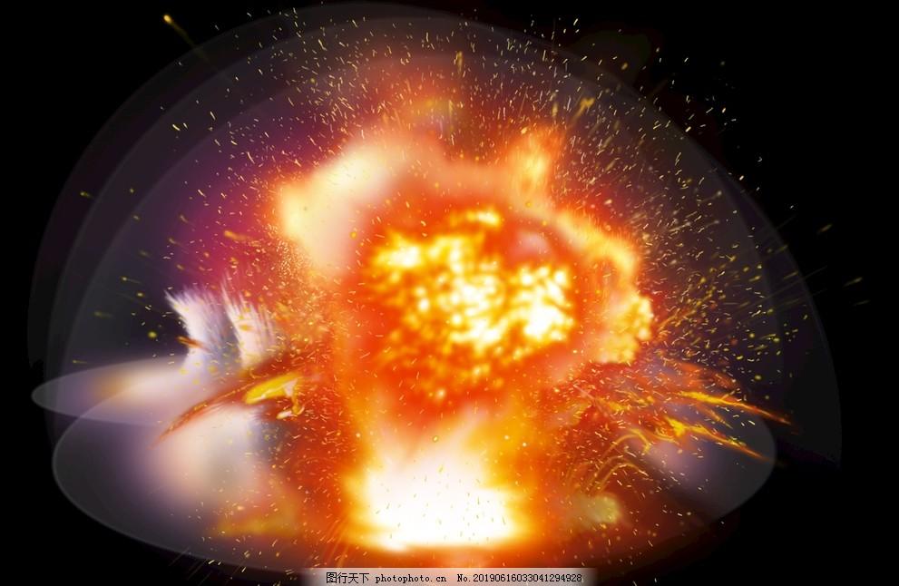爆炸,火花,素材,特效,火焰造型,素材合集,免扣