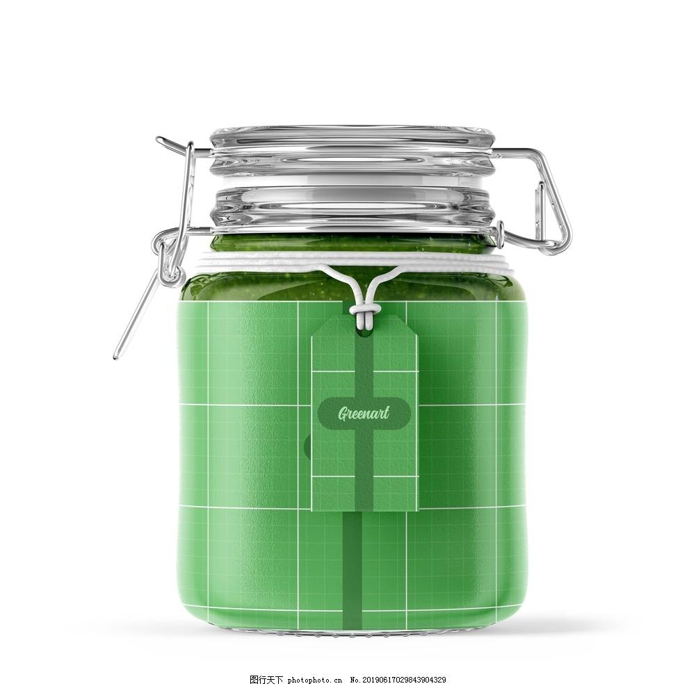 罐子样机,果酱罐头样机,果酱样机,玻璃罐样机,水果罐头样机,水果果酱样机,蜜糖罐