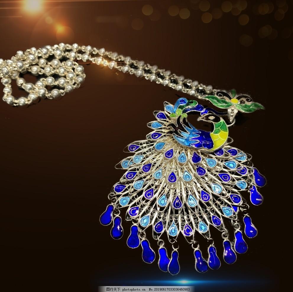 苗族银饰,民族银饰,银项圈,银饰大挂件,民族风,凤凰古城银饰,设计