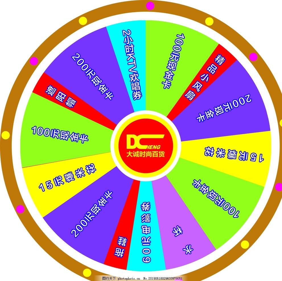 大轉盤,抽獎,活動轉盤,大誠服飾,logo,雜,設計