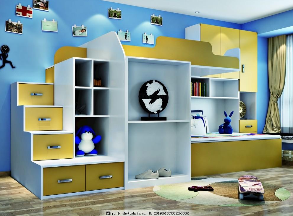 儿童房,黄色,小清晰,衣柜,儿童床,设计,其他